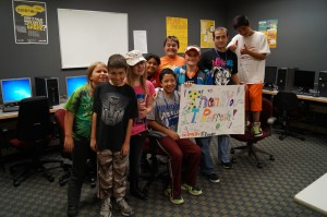 We donated 10 computers to the Fort Collins Boys and Girls Club
